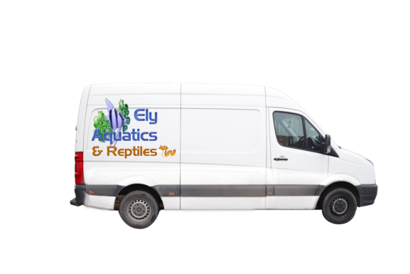 Direct to home delivery service for local Ely Auatics customers